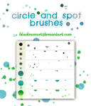 Circle and Spot Brushes