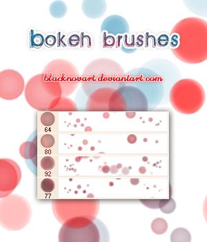 Bokeh Brushes by blacknovART