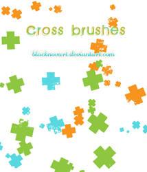 Cross brushes