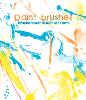 Paint brushes by blacknovART