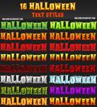16 Halloween Text Styles