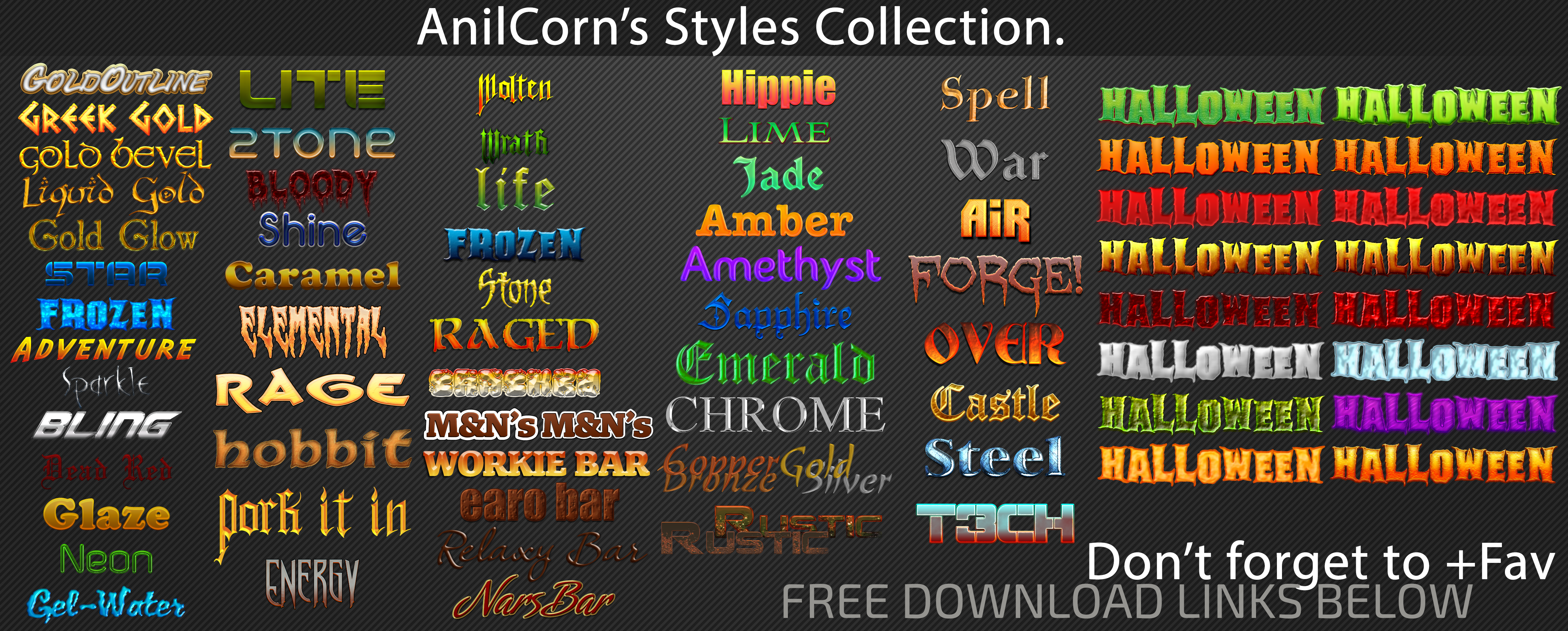 Anilcorns Styles All-in-one
