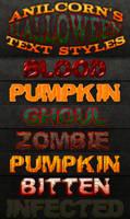 AnilCorn's Halloween Text Styles