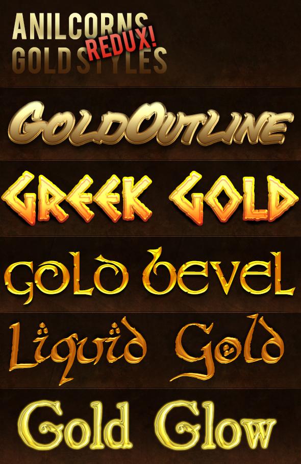 Gold Styles REDUX!