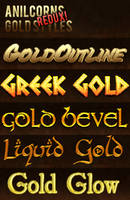 Gold Styles REDUX! by AnilCorn