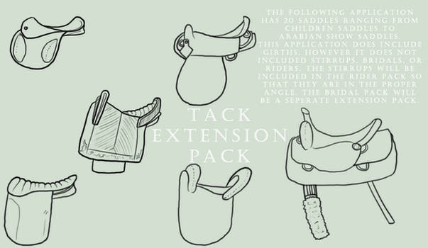Saddle Extension Pack