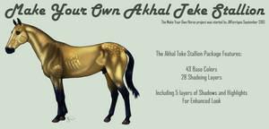 Make Your Own Akhal Teke 1