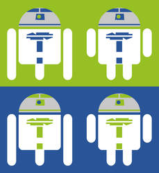 R2-D2 Android Logo