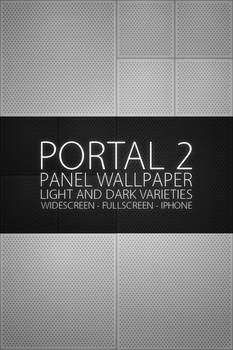Portal 2 Panels Wallpaper