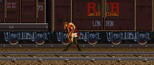 Vanessa vs Blaze (Background)