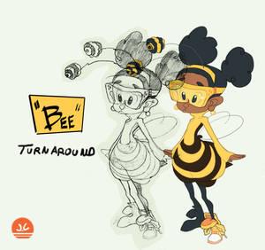 Animation 01: Full Bee Turnaround