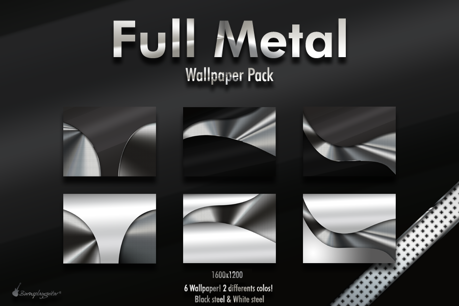 Full Metal by burnsplayguitar