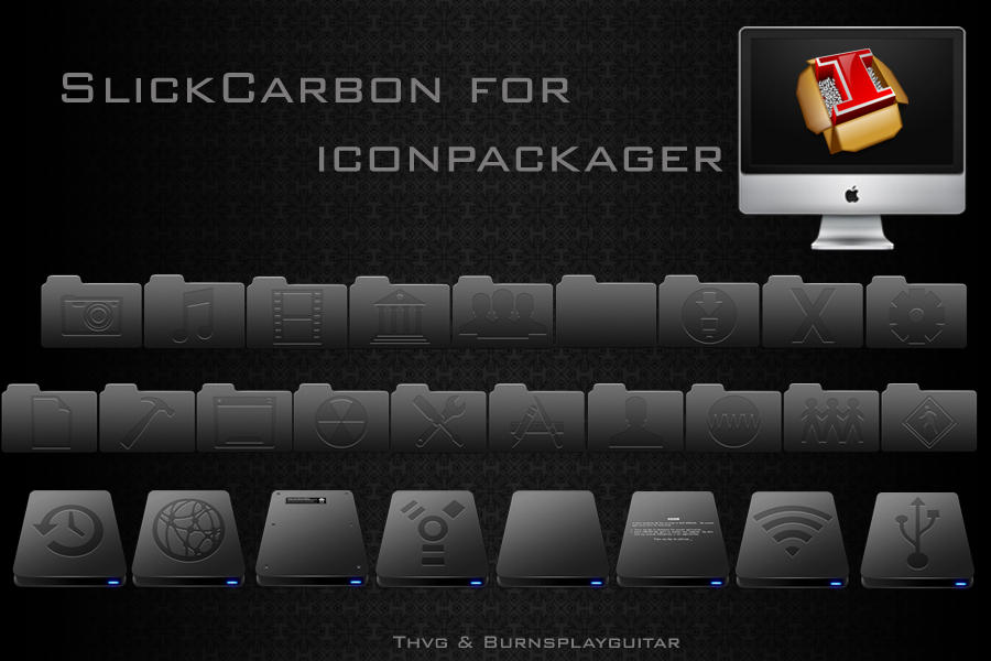 SlickCarbon for IP by burnsplayguitar