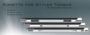 Sonetto Styler Toolbar