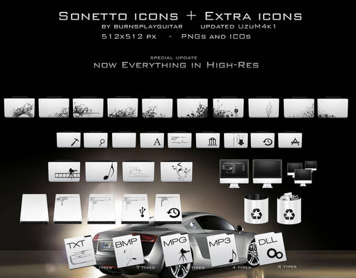Sonetto Icons and Extras