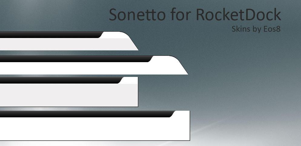 Sonetto RocketDock by burnsplayguitar