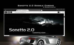 Sonetto 2.0 Google Chrome by burnsplayguitar