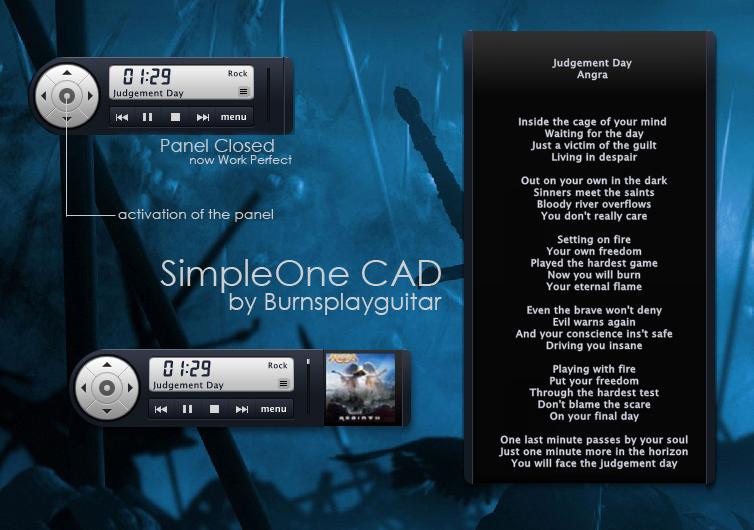 SimpleOne CAD by burnsplayguitar