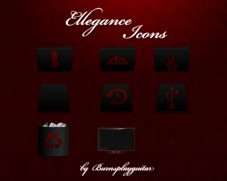 Ellegance Icons by burnsplayguitar
