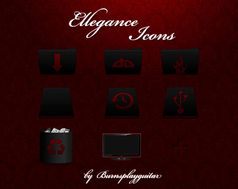Ellegance Icons by burnsplayguitar