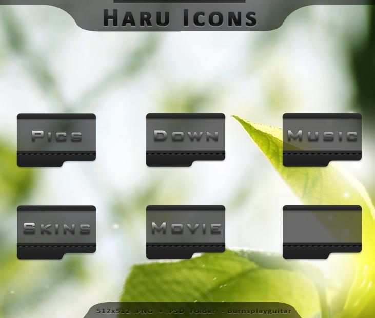 Haru Icons by burnsplayguitar