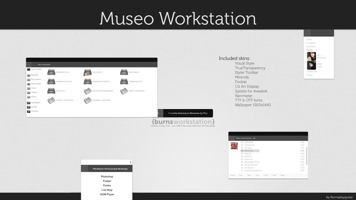 MuseoWorkstation by burnsplayguitar