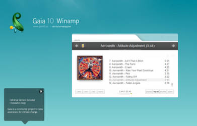 Gaia10 Winamp by burnsplayguitar