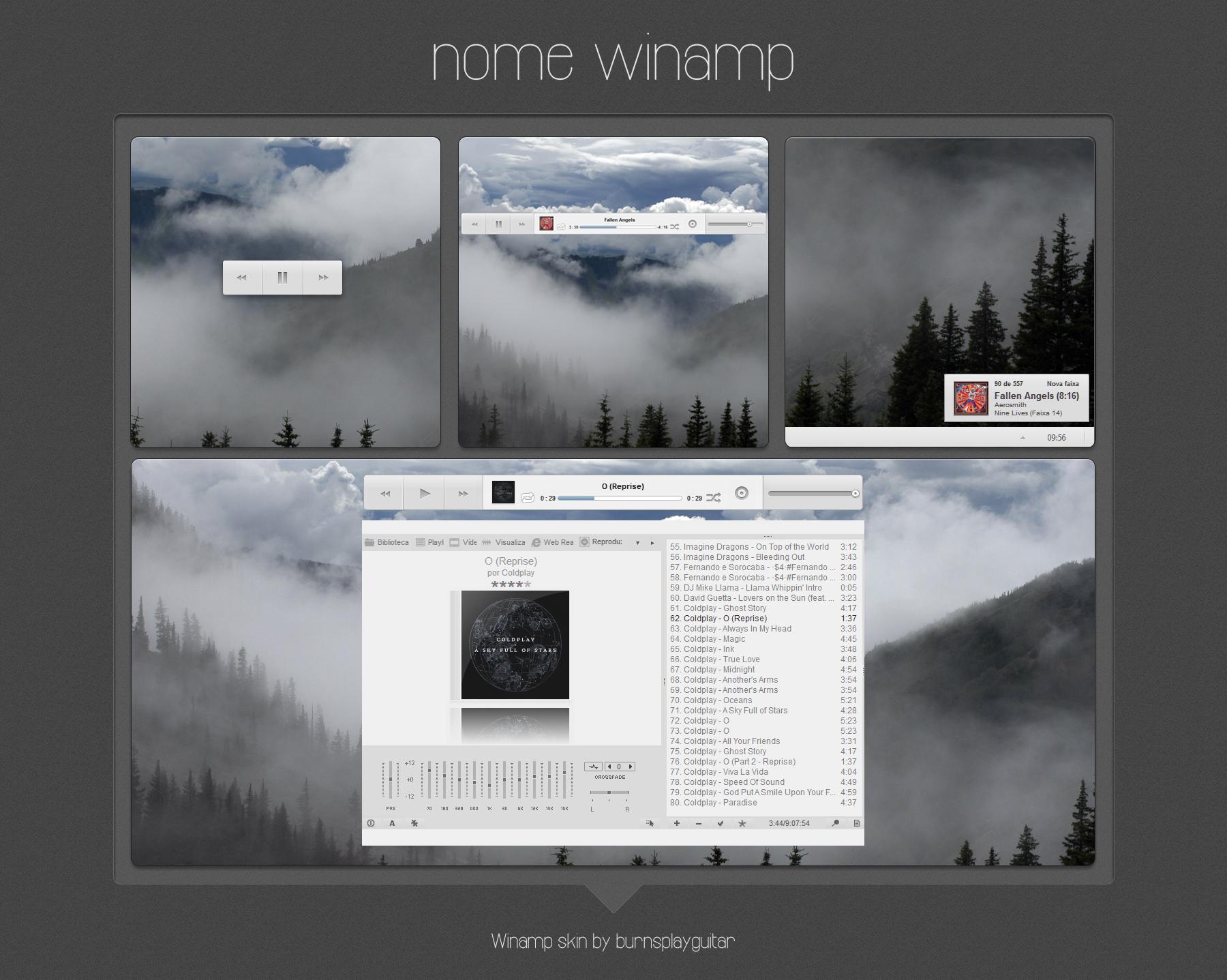 Nome Winamp by burnsplayguitar
