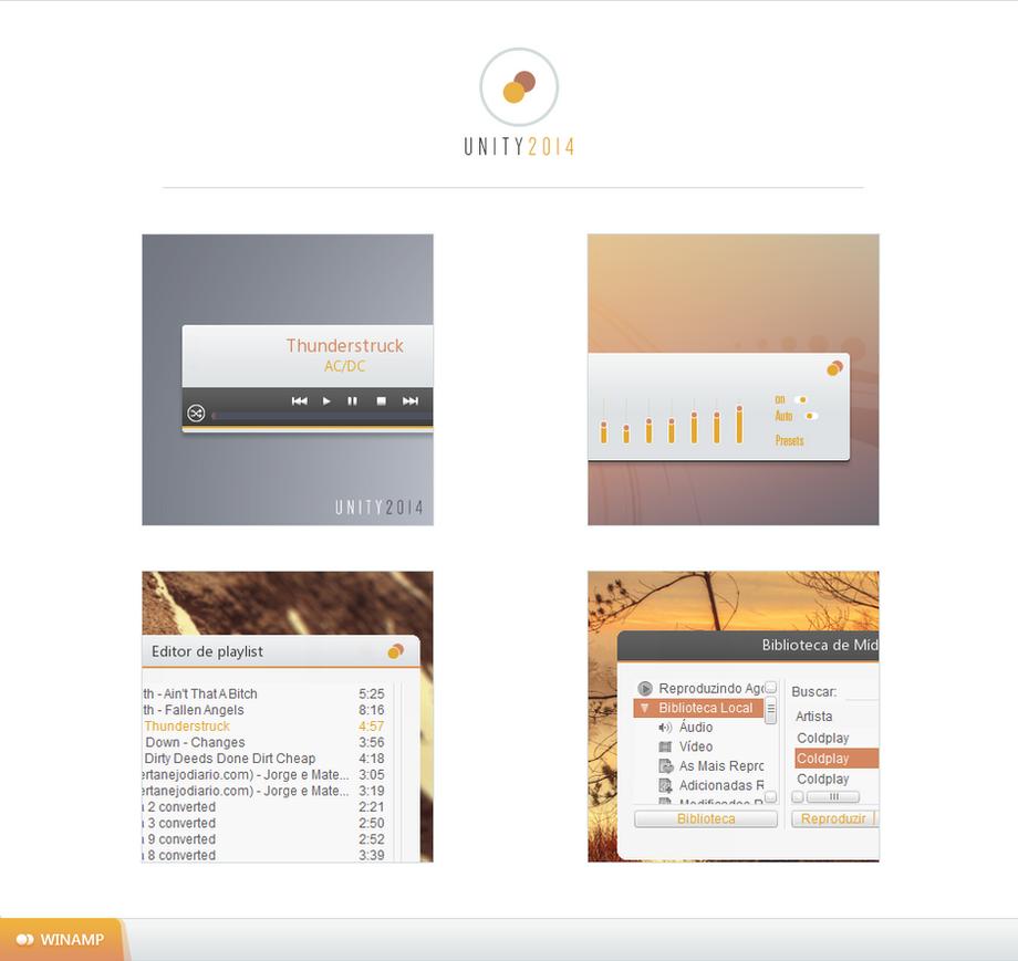 Winamp Unity2014 by burnsplayguitar