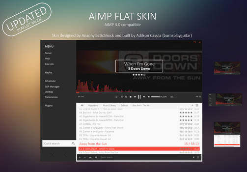 AIMP FLAT SKIN