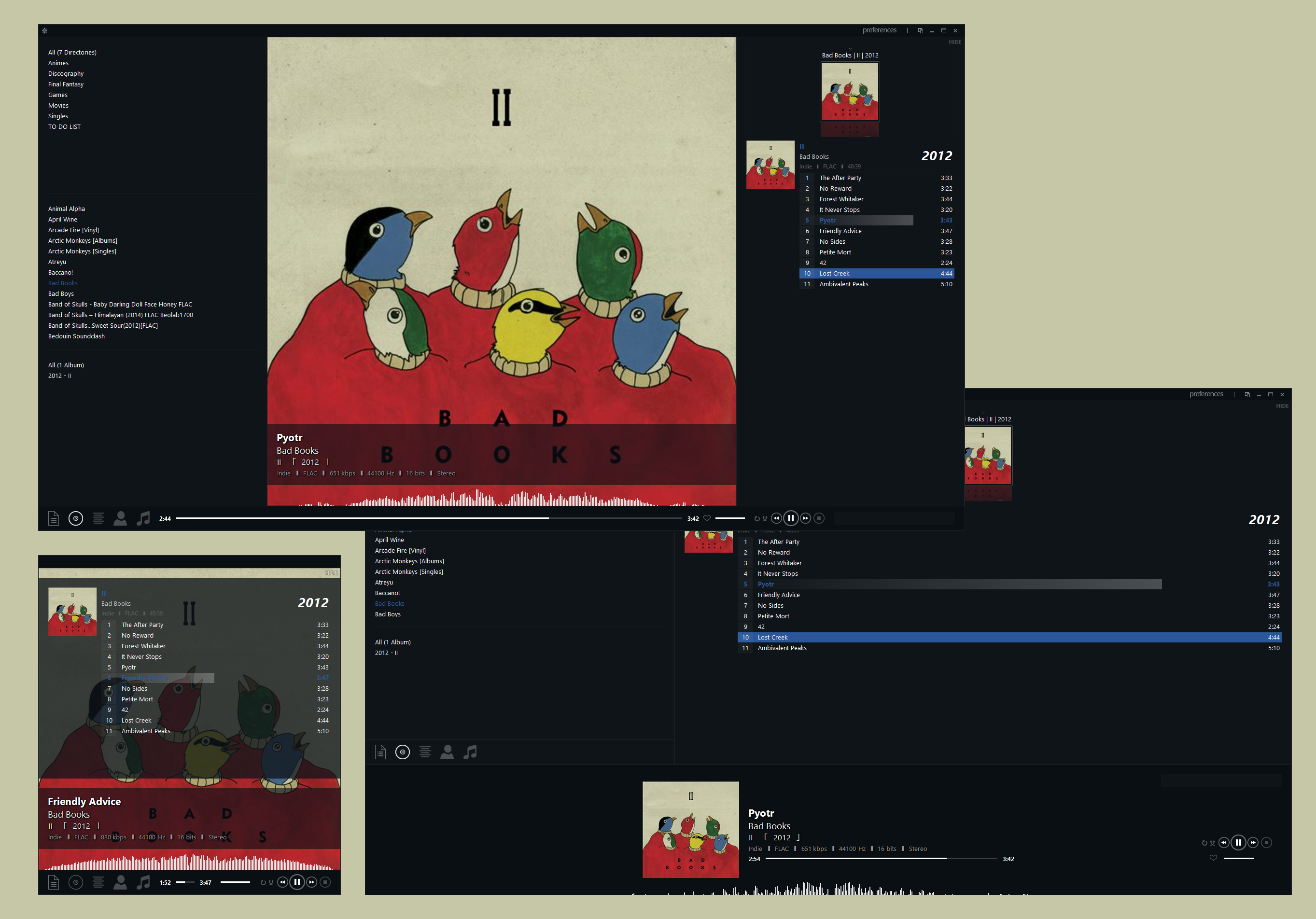 One of those foobar Metro 1.9.2 by Rikitiki11