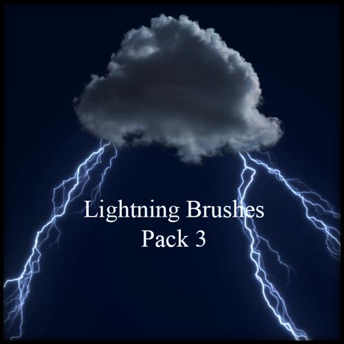 Lightning Brushes Pack 3 by kakefat