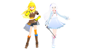 (MMDxRWBY) Yang + Weiss DL