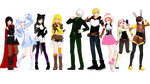 (MMDxRWBY) RWBY Volume 1 Pack (+DL)