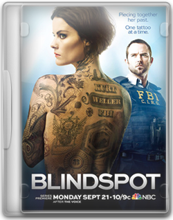 Blindspot Folder Icon / DVD Icon (Cover) by tofrus