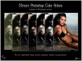 D3mons  Color Actions by thekellz