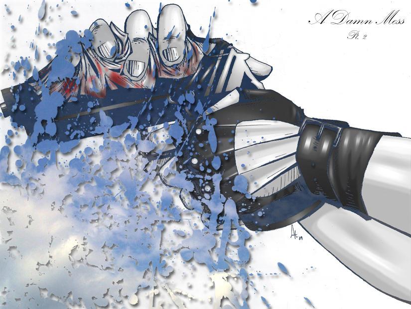 A Damn Mess Pt 2 Brushes by azraelengel