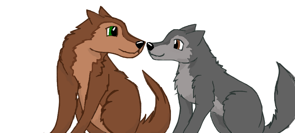 When I look into your eyes by Wolf--Prime