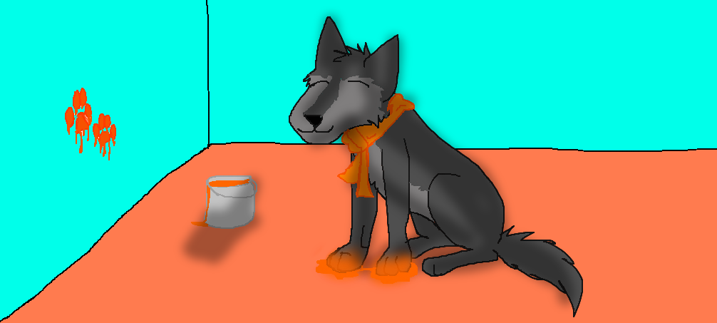 orange by Wolf--Prime
