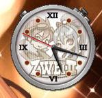 The clock widget from Zwei2