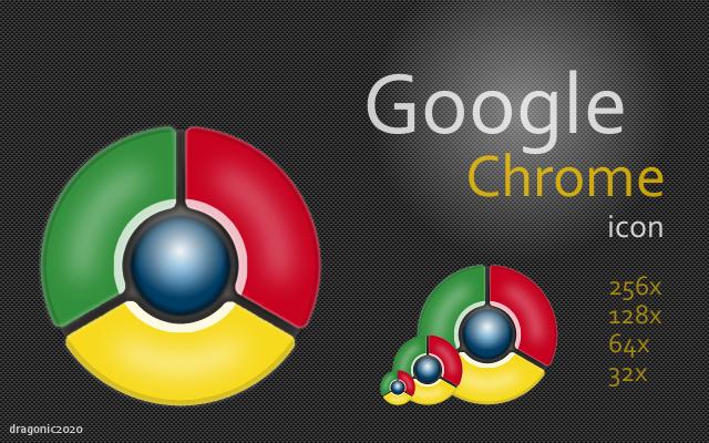 Google Chrome Icon by dragonic2020