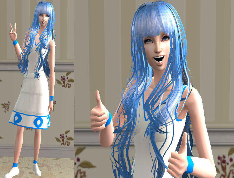 The sims 2 ika musume download by cinzia chan on deviantart - Sims 2 downloads mobel ...