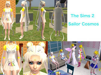 Sailor Cosmos - The Sims 2 Download by Cinzia-chan