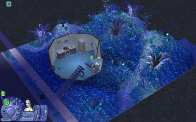 The Sims 2 - Alien's house and garden Download by Cinzia-chan