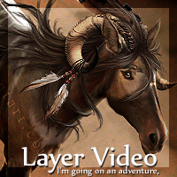 Layer Video - I'm going on an adventure, by Sarahroo