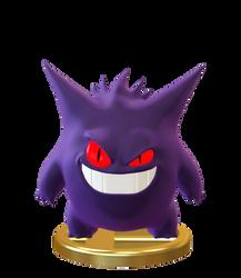 Gengar Smashified Trophy GIF by Zesiul