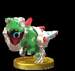 Mecha Drago Smashified Trophy GIF