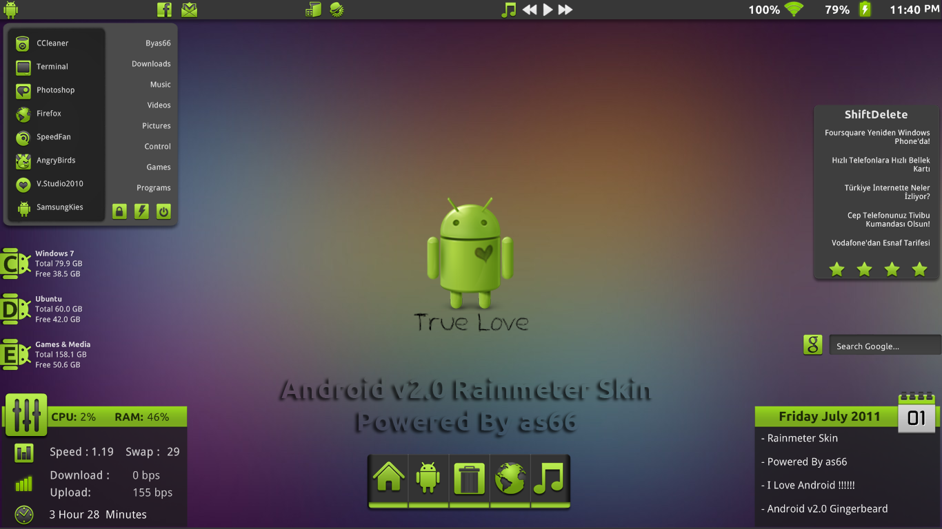Android v2.0 for Rainmeter by as66