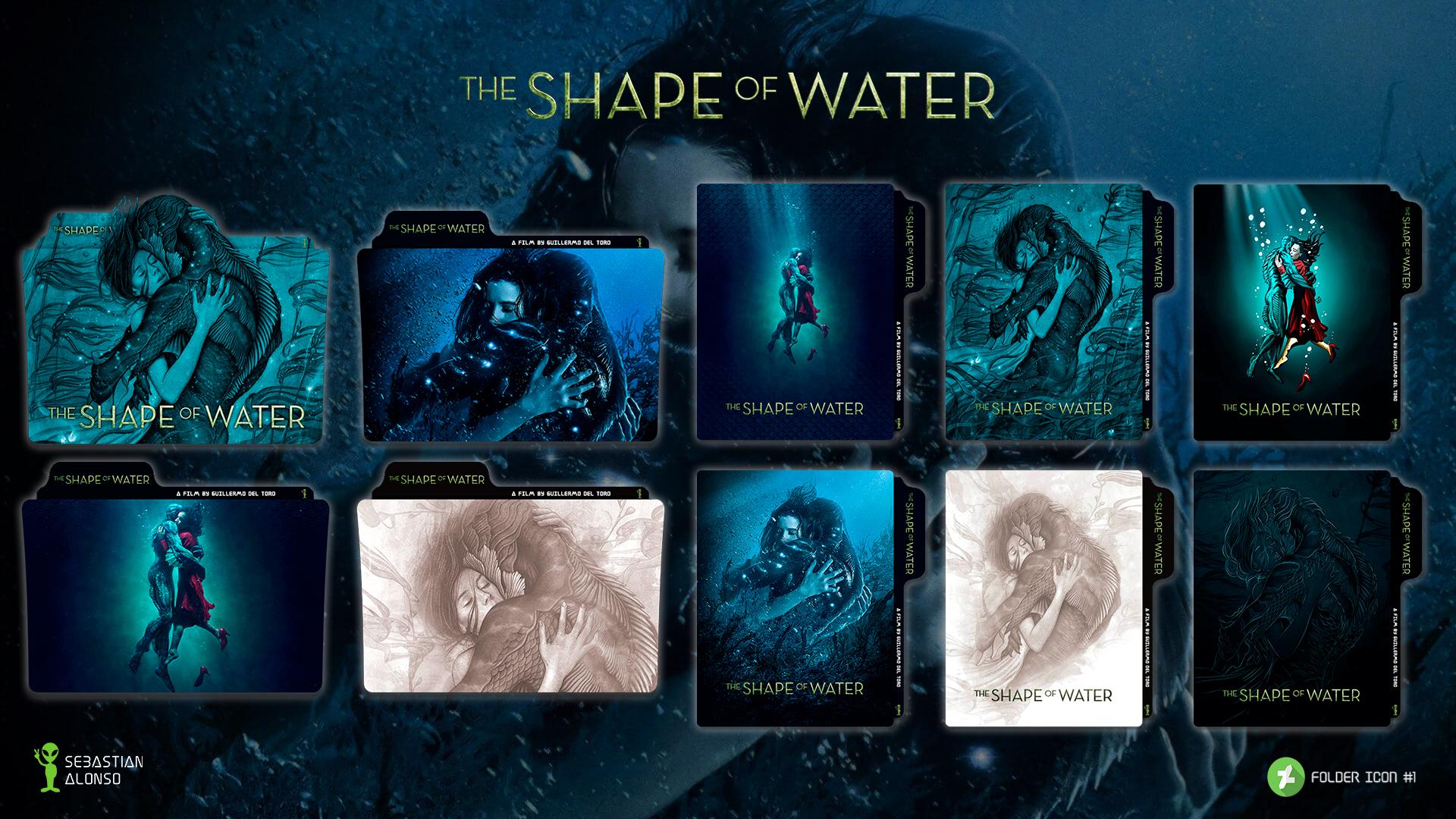 The Shape Of Water 2017 Folder Icon 1 By Sebasmgsse On Deviantart