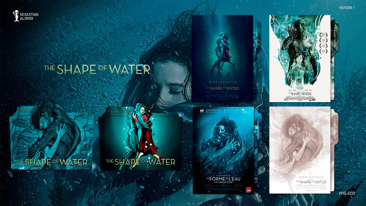 The Shape of Water (2017) Folder Icon by sebasmgsse